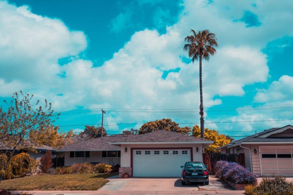 House & garage door