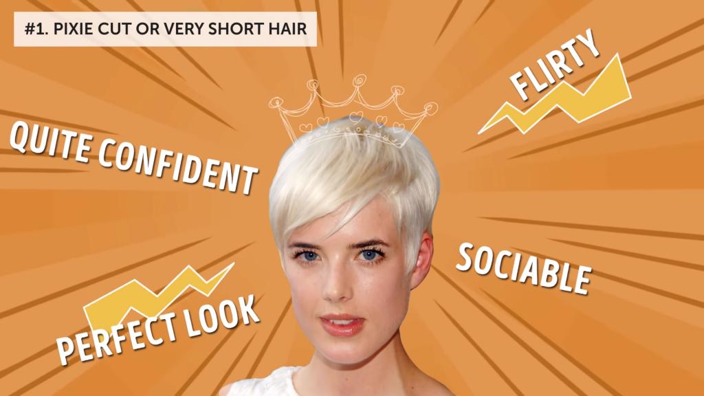 Short hair personality